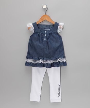 Chambery Button Tunic & Jeggings - Infant