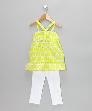 Limeaid Tunic & Jeggings - Infant & Toddler