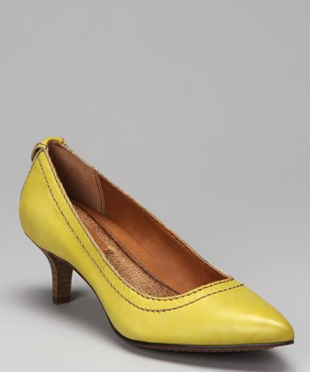 Citron Kaleigh Kitten Heel
