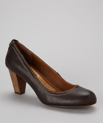Dark Brown Falin Pump