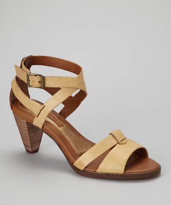 Beige & Brown Lailie Sandal