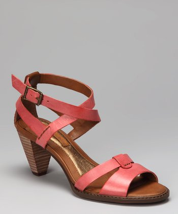 Red Lailie Sandal