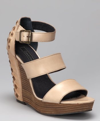 Dark Sand Hara Platform Wedge