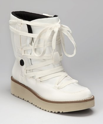 White Tyler Boot