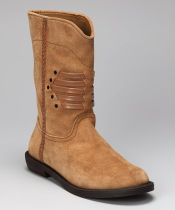 Tan Suede Kourtney Boot