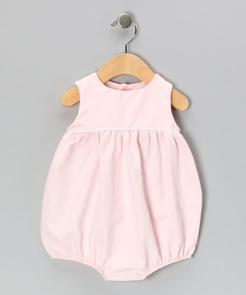 Pink Piqué Bubble Bodysuit - Infant & Toddler