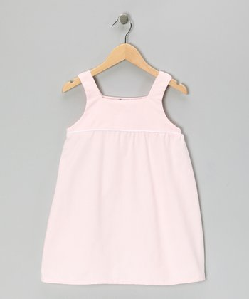 Pink Piqué Swing Dress - Infant & Girls