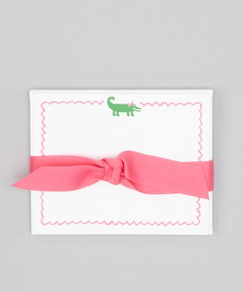 Alligator Note Card Set