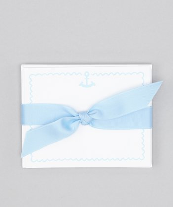 Blue Anchor Note Card Set