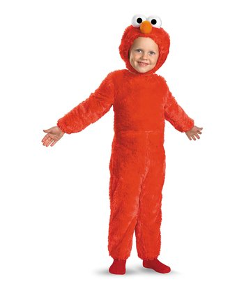 Red Elmo Faux Fur Dress-Up Set - Toddler