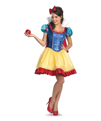 Snow White Sassy Deluxe Dress-Up Set - Women