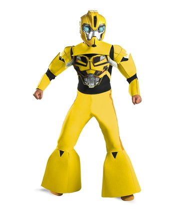 Yellow Bumblebee Animated Deluxe Dress-Up Set - Boys