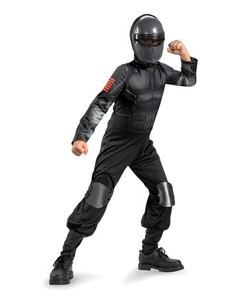 Black Snake Eyes Classic Dress-Up Set - Boys
