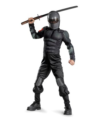 Black Snake Eyes Classic Muscle Dress-Up Set - Boys