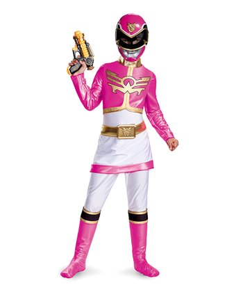 Pink Ranger Megaforce Deluxe Dress-Up Set - Girls