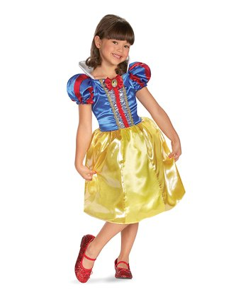 Snow White Sparkle Dress-Up Outfit - Girls