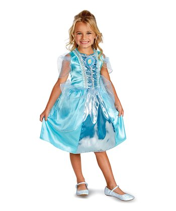 Cinderella Sparkle Classic Dress-Up Outfit - Girls