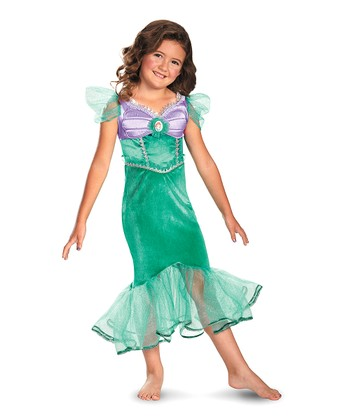 Ariel Sparkle Classic Dress - Toddler & Girls