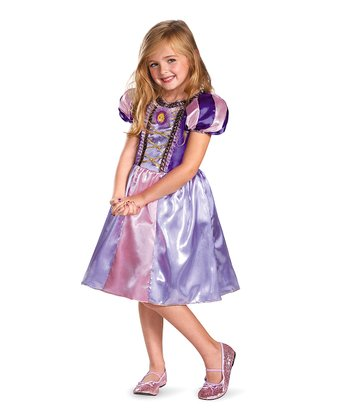 Rapunzel Sparkle Classic Dress - Toddler & Girls