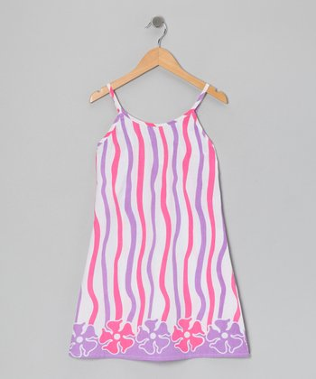 Pink & Lavender Dress - Toddler & Girls