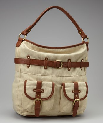 Natural Buckle Hobo