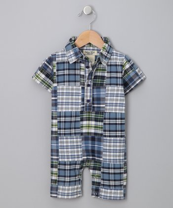 Da Lil Guys - Plaid Romper - Infant