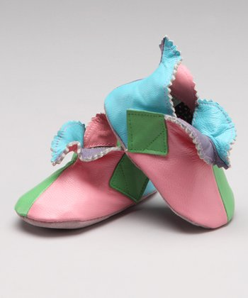 Pastel Pixie Leather Shoe