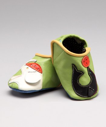 Green Circus Leather Shoe - Infant