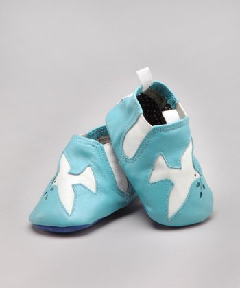 Dove Leather Shoe - Infant