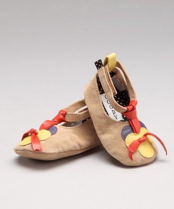Pansy Leather Shoe