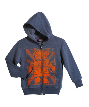 Midnight Robot Zip-Up Hoodie - Infant, Toddler & Boys