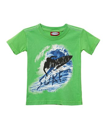 Caterpillar 'Surf' Wave Tee - Infant, Toddler & Boys
