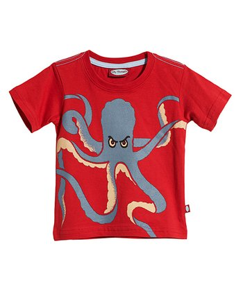 Ketchup Octopus Tee - Infant, Toddler & Kids