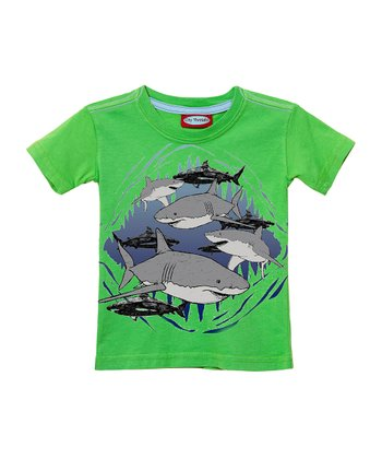 Caterpillar Shadowy Shark Tee - Infant, Toddler & Kids