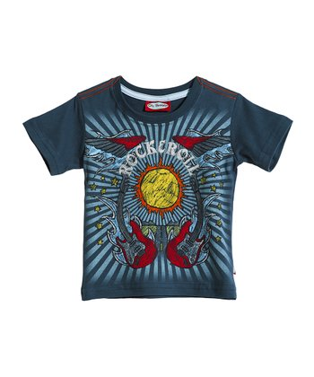 Midnight 'Rock & Roll' Tee - Infant & Toddler