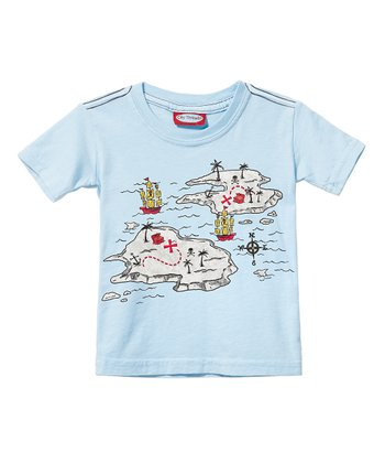 New Ice Pirate Map Tee - Infant & Toddler