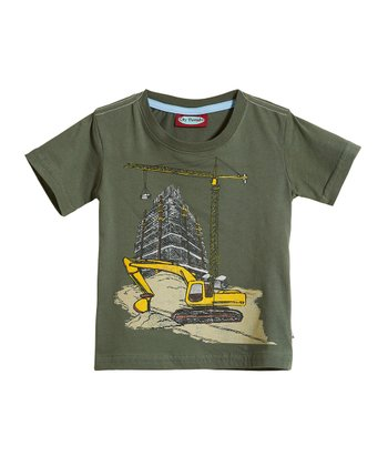 Turtle Construction Scene Tee - Infant, Toddler & Kids