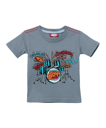 Concrete Drums 'Boom!' Tee - Infant