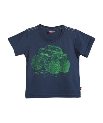 Midnight Monster Truck Tee - Infant, Toddler & Kids