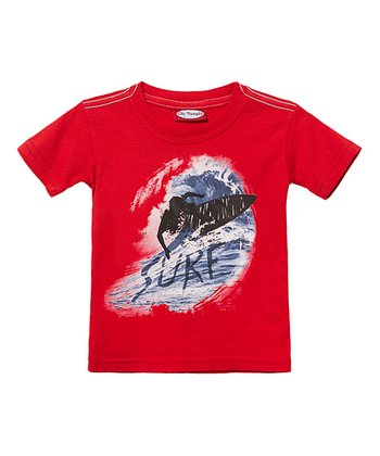 Ketchup Surf Wave Tee - Infant, Toddler & Kids