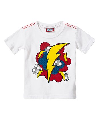 White Lightning Blast Tee - Infant & Toddler