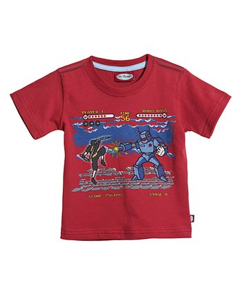 Red Video Game Tee - Infant & Toddler