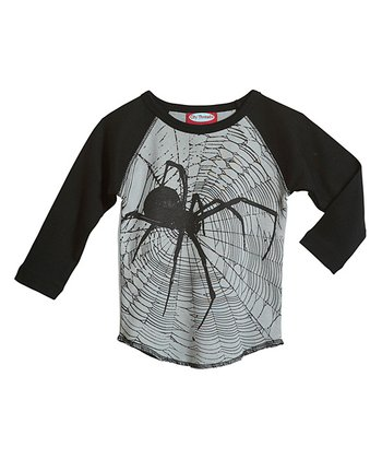 Road & Black Spider Raglan Tee - Infant