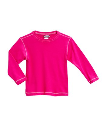 Hot Pink Tee - Infant & Girls