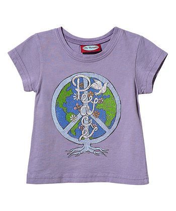 Acai 'Peace' Tee - Infant, Toddler & Girls