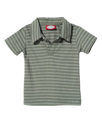 Road Stripe Soft Jersey Polo - Infant, Toddler & Boys