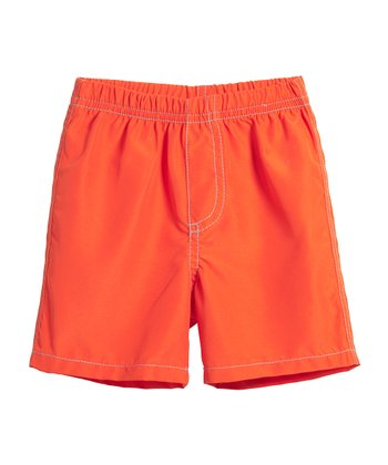 Orange Boardshorts - Infant & Boys