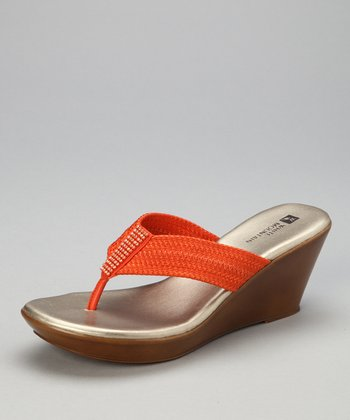 Orange Ray Sandal