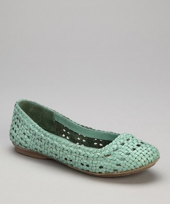 Mint Leather Hombrew Flat