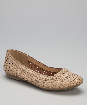 Natural Leather Hombrew Flat